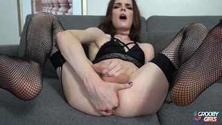 Amazing Sexy Tgirl Masturbation and Cumshot
